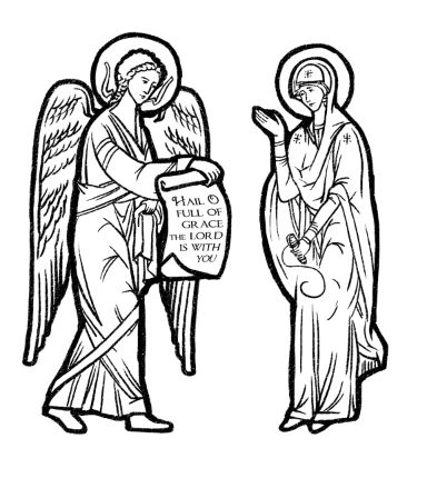 The annunciation clipart freeuse stock Free Annunciation Cliparts, Download Free Clip Art, Free ... freeuse stock