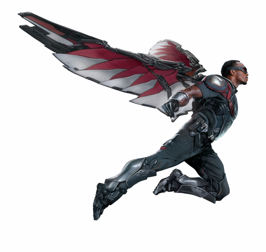 The avengers the falcon clipart picture transparent stock Extendable Wing Type Design Used In The Avengers - Captain ... picture transparent stock