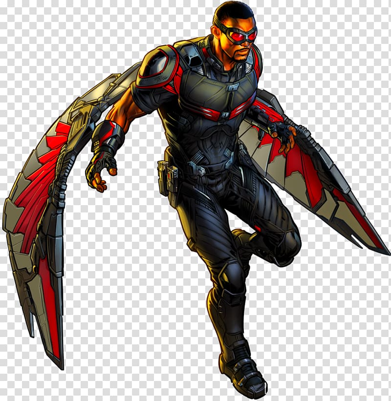 The avengers the falcon clipart svg free stock Marvel Avengers character with gray and red wings , Falcon ... svg free stock