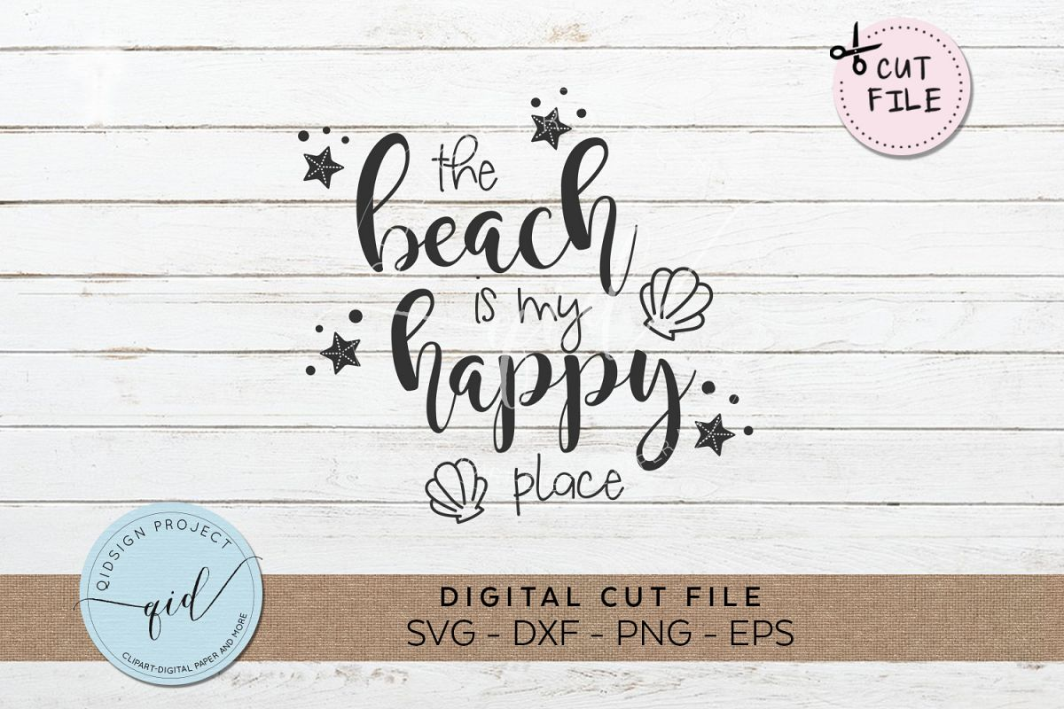 The beach is my happy place clipart freeuse library The Beach Is My Happy Place SVG DXF PNG EPS freeuse library