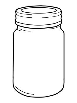 The bell jar clipart clipart library stock Mason Jars Clip Art; Black and White Bell Jar Clip Art clipart library stock