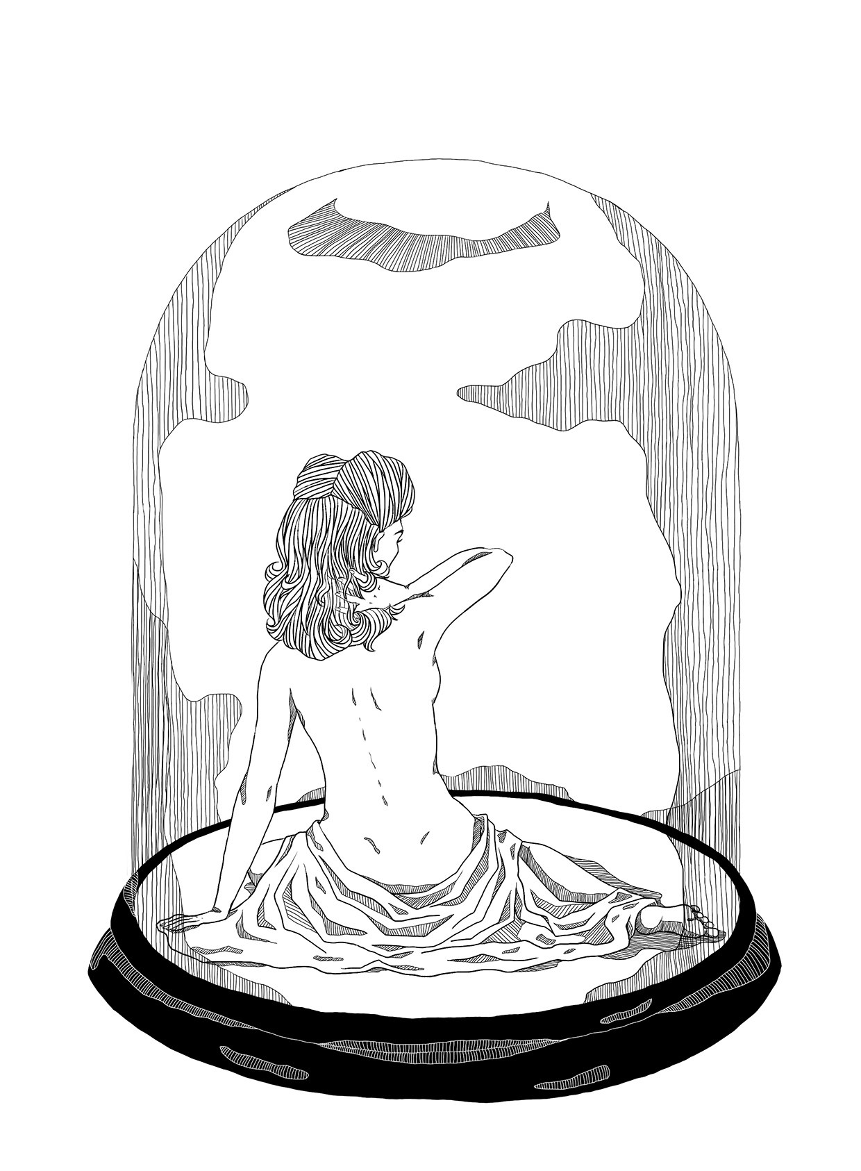 The bell jar clipart graphic transparent The Bell Jar - Ecem Yucel - Medium graphic transparent