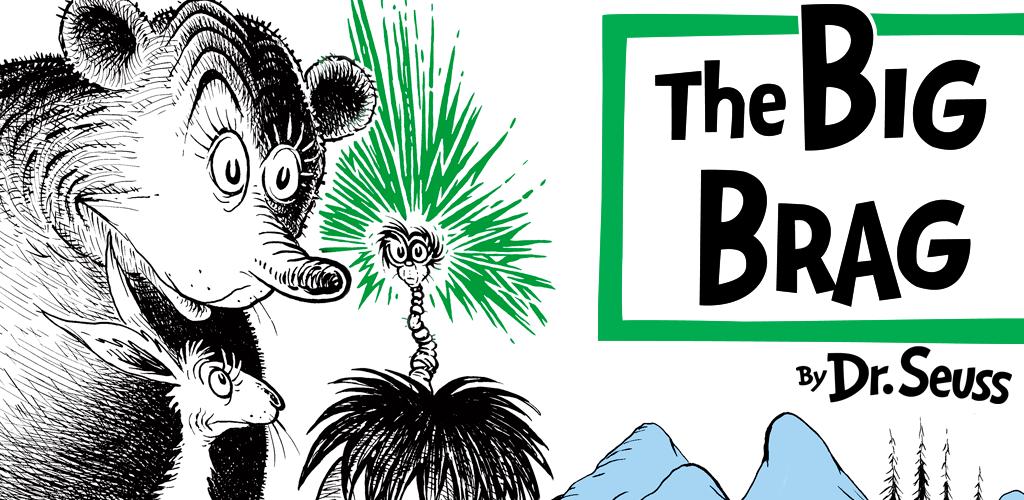 The big brag clipart banner The Big Brag - Dr. Seuss banner