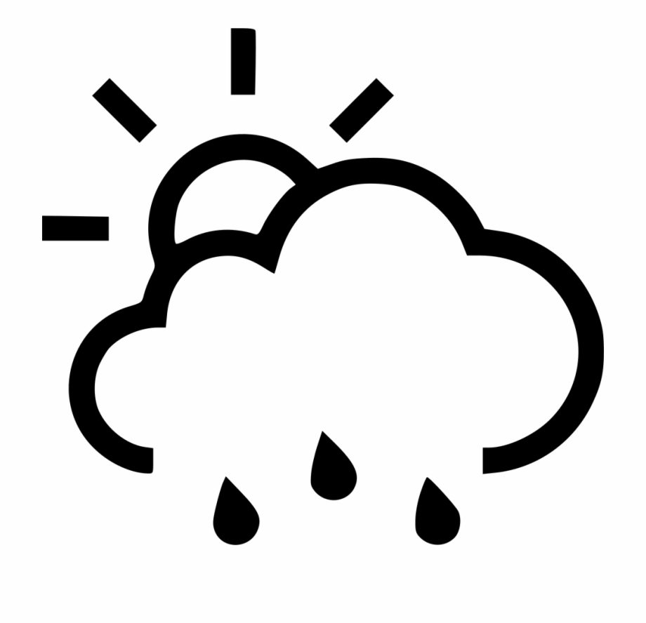The big storm black and white clipart clipart free library Png File Svg - Sun Storm Icon - rain clipart png, Free PNG ... clipart free library