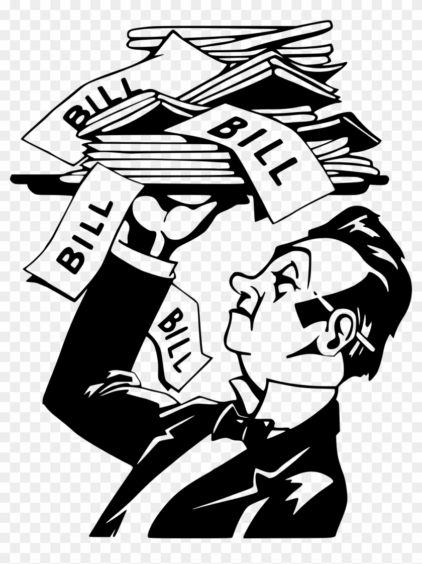 The bill clipart png library download The Bill Is Served Icons Png - Bills Clipart, Transparent ... png library download