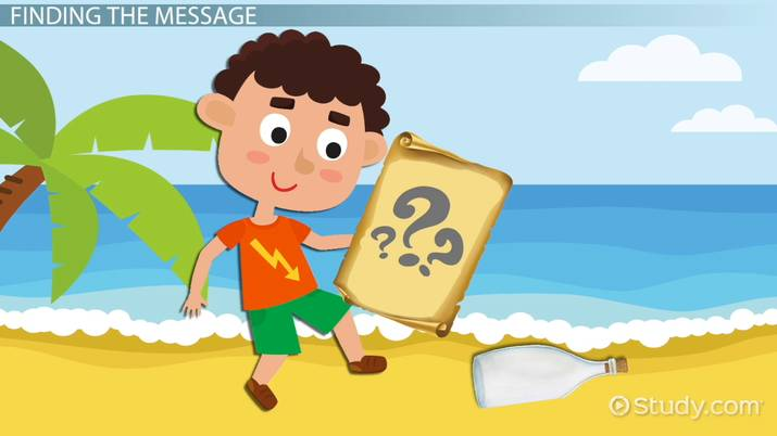 The book take me with you clipart picture royalty free Determining the Message of a Story: Lesson for Kids - Video ... picture royalty free
