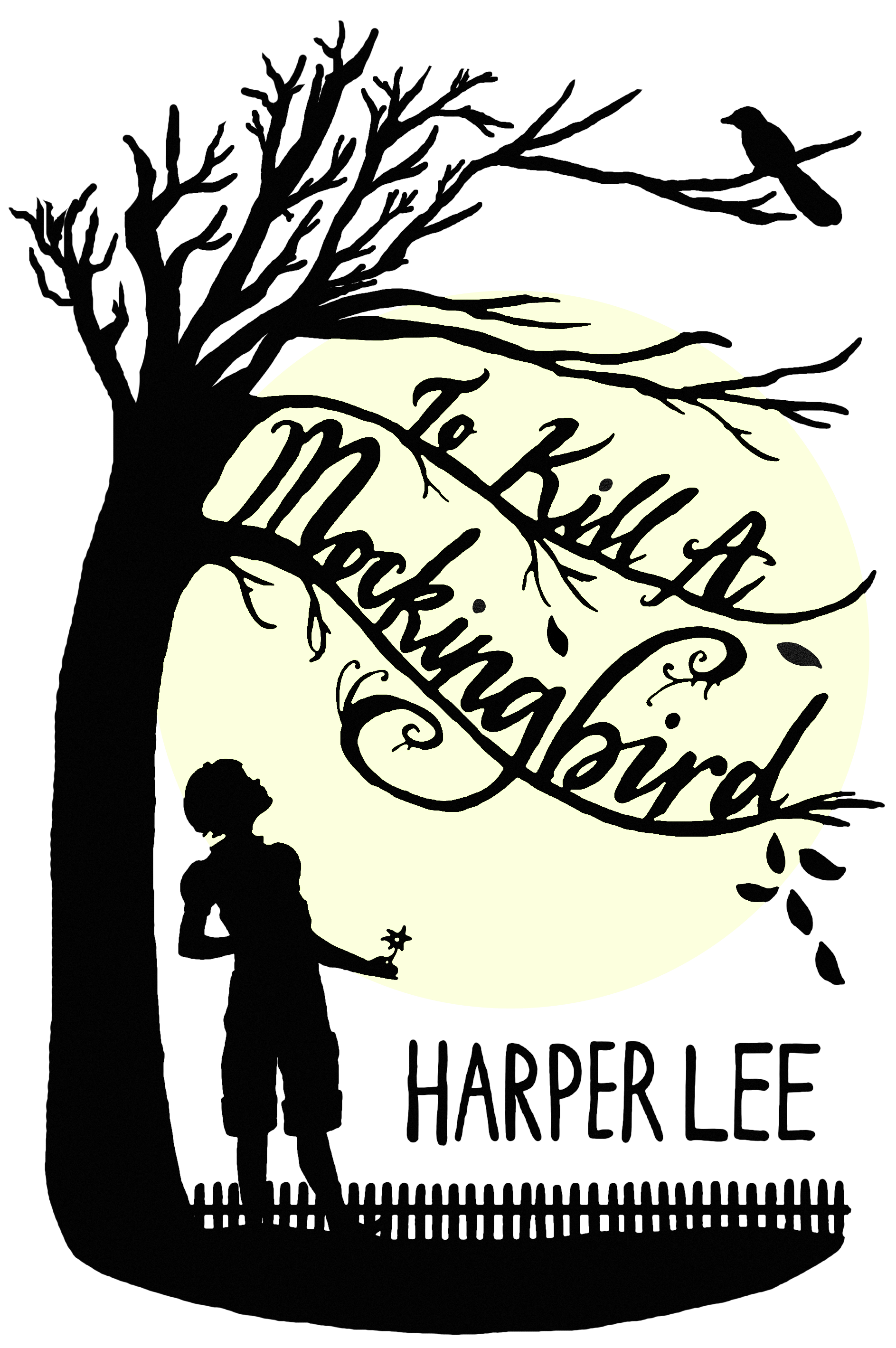 The book thief clipart graphic black and white library to-kill-a-mockingbird-book-cover-1264220.png (1887×2839) | Favorite ... graphic black and white library