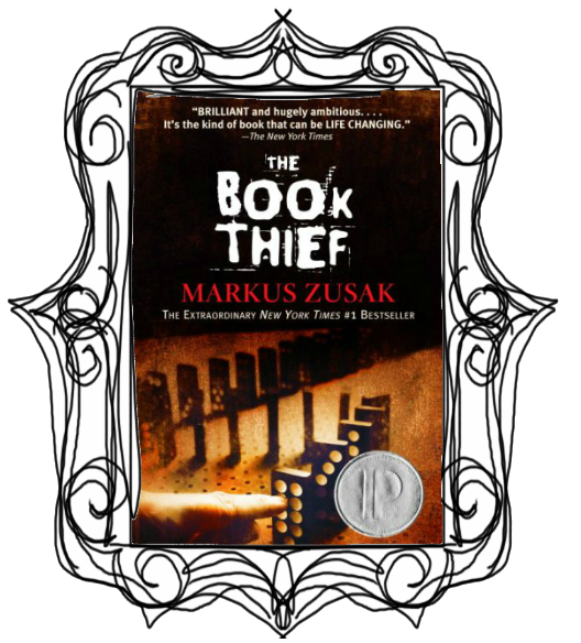 The book thief clipart banner transparent library The Book Thief » Paige Scribbles banner transparent library