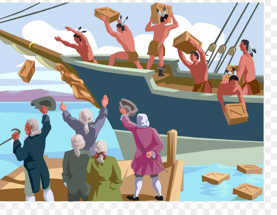 The boston tea party clipart stock Boston Tea Party clipart - Tea, Cartoon, Games, transparent ... stock