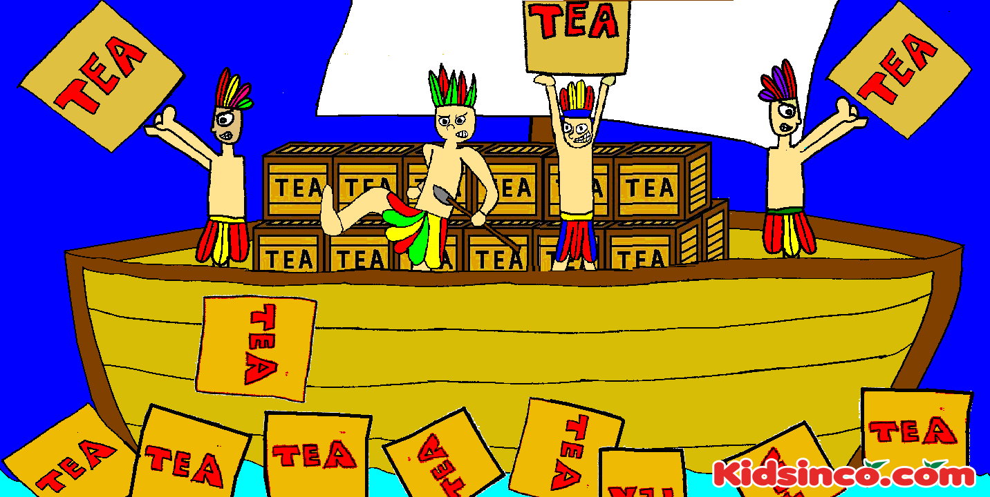 The boston tea party clipart jpg library library Boston tea party clip art - Clip Art Library jpg library library