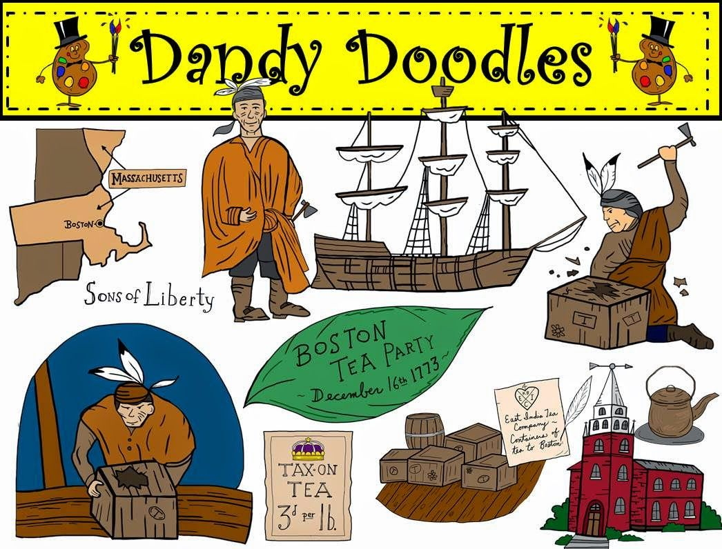 The boston tea party clipart freeuse library Finally Creating Clip Art Again... | Clip Art Products by ... freeuse library
