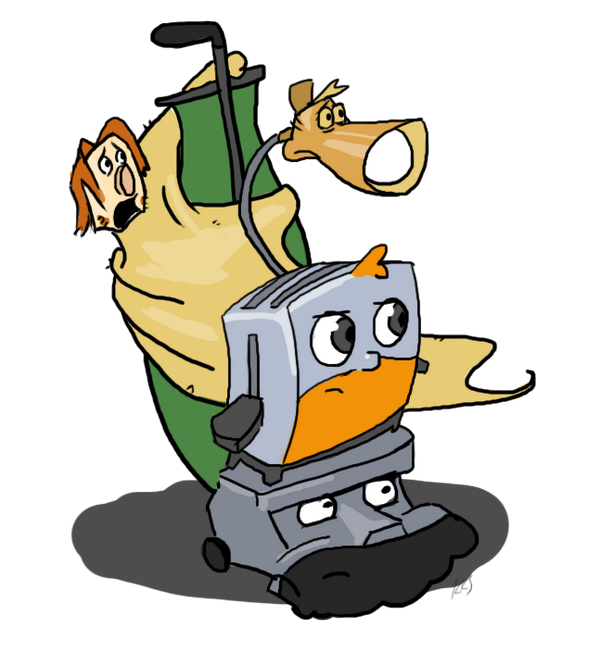 The brave little toaster clipart svg freeuse download Jesse Cox on Twitter: \