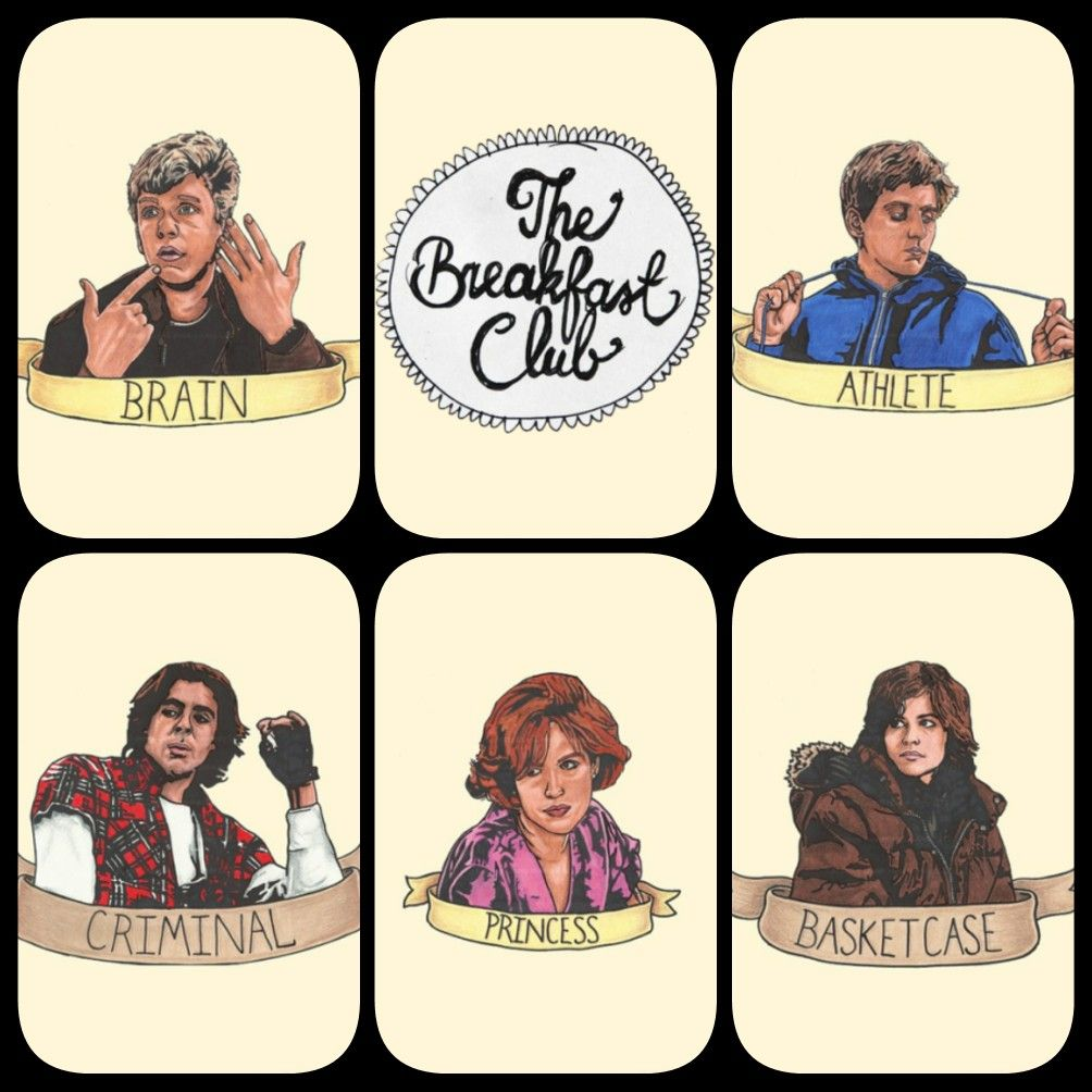 The breakfast club movie clipart graphic transparent library The Breakfast Club | TV and Movie Land | The breakfast club ... graphic transparent library