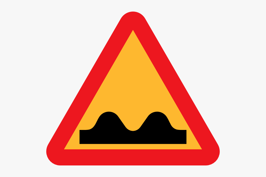 The bump clipart vector royalty free library Bump Cliparts - Speed Breaker Sign Board #440856 - Free ... vector royalty free library