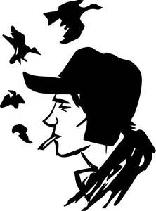 The catcher in the rye clipart vector black and white download Details about Holden Caulfield vinyl decal JD Salinger Catcher in the Rye  Glass Family sticker vector black and white download