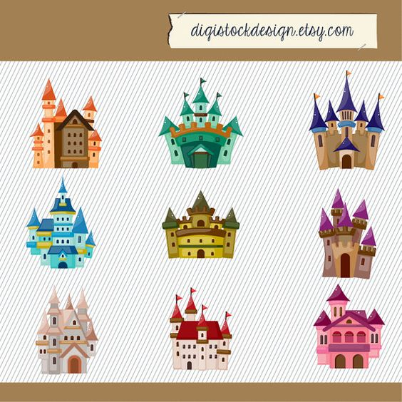 The clipart fairy printables png free download Castle Clip art. Kids Castle Clipart. Fairy Tale Clipart. Pink ... png free download