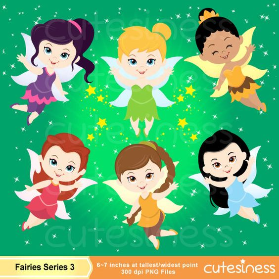 The clipart fairy printables png black and white Tinkerbell Clipart, Fairy Digital Clipart, Fairy Clipart ... png black and white