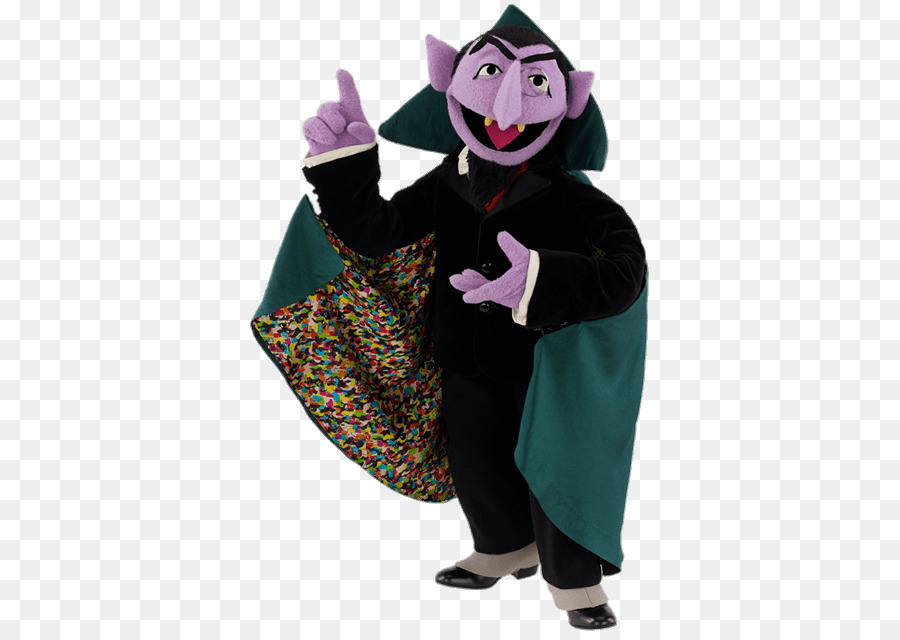 The count from sesame street clipart png jpg black and white Sesame Street png download - 417*635 - Free Transparent ... jpg black and white