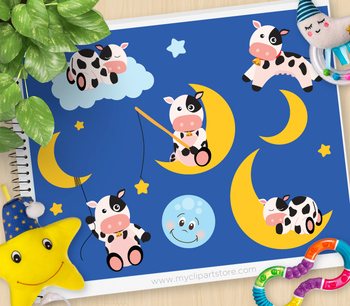 The cow jumped over the moon clipart banner black and white stock The Cow Jumped Over The Moon Worksheets & Teaching Resources ... banner black and white stock