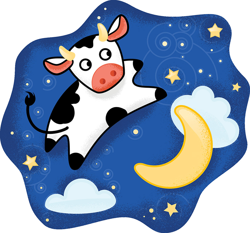 The cow jumped over the moon clipart image free download Cow Jumped Over The Moon Clipart | Free download best Cow ... image free download