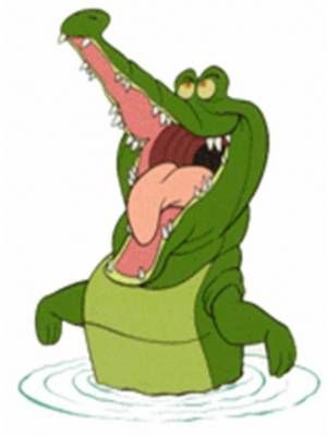 The crocodile from peterpa clipart image library library Crocodile Clipart peter pan 3 - 300 X 400 Free Clip Art ... image library library