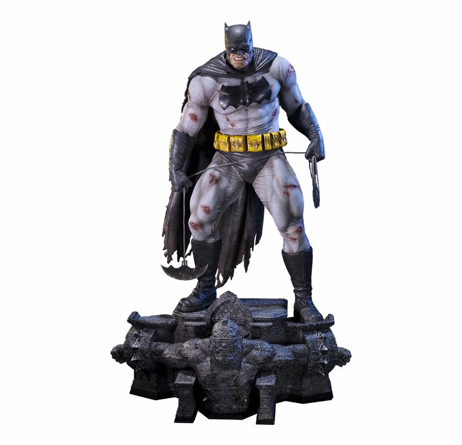 The dark knight returns clipart jpg black and white library Prime 1 Studio The Dark Knight Returns Batman Statue - Prime ... jpg black and white library