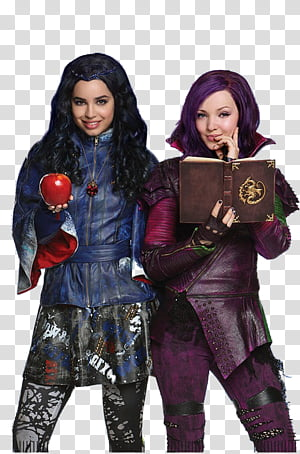 The descendants clipart no background clipart freeuse download Disney Descendants Mega , Mal Hija De Malefica transparent ... clipart freeuse download