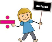 The division clipart png library Girl Holding a Division Sign » Clipart Portal png library