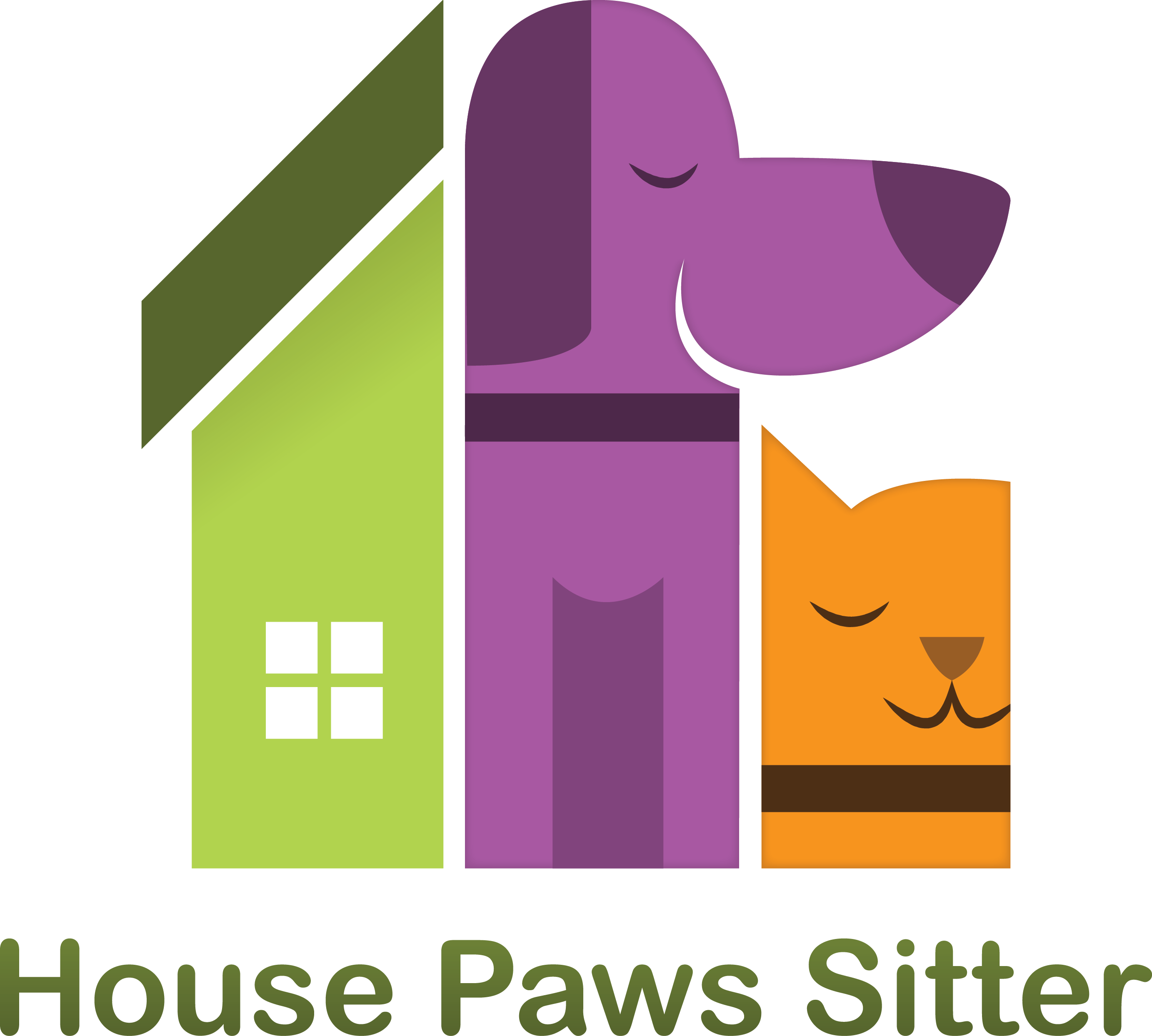 The dog is next to the house clipart graphic black and white download Home - House Paws Sitter graphic black and white download