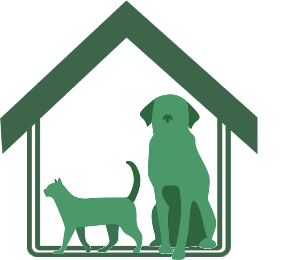 The dog is next to the house clipart jpg freeuse DIY – companion animal house jpg freeuse