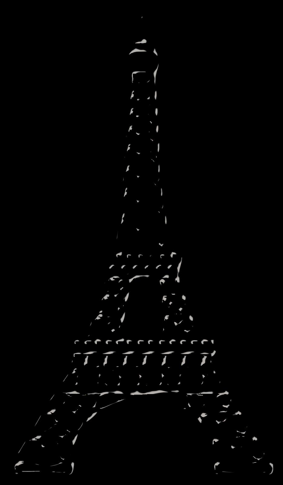 The eiffel tower with arms that flex clipart svg royalty free Bello Clipart Chic Paris. | Paris | Eiffel tower drawing ... svg royalty free