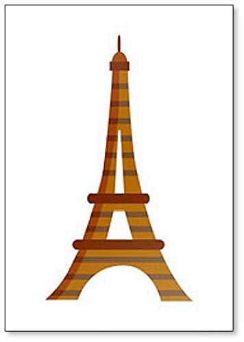 The eiffel tower with arms that flex clipart clipart free Amazon.com: Eiffel Tower In Paris, France classic fridge ... clipart free