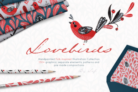The elements clipart clipart transparent Watercolor clipart graphics folk art birds. Gouache patterns, wreaths and  elements clipart transparent