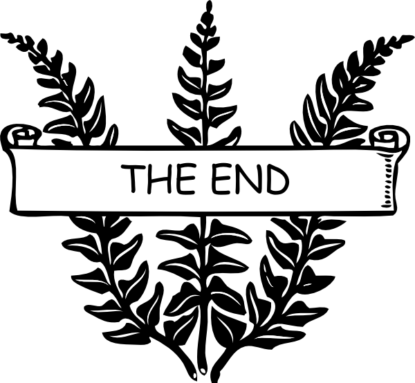 The end book clipart clip royalty free stock My Life Is An Open Book: The End Clip Art at Clker.com - vector clip ... clip royalty free stock