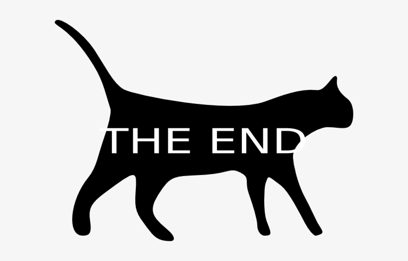 The end clipart pictures picture transparent End Kitty Cat Png - End Clipart Free - Free Transparent PNG ... picture transparent
