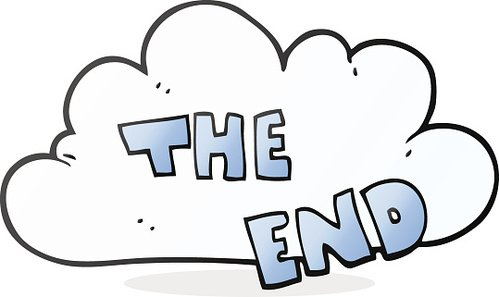 Image result for the end clipart