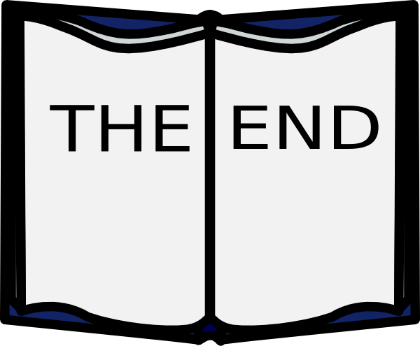 The end clipart pictures vector freeuse library The End Clip Art at Clker.com - vector clip art online ... vector freeuse library