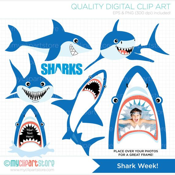 The final week is here clipart images picture freeuse Shark Clipart, Under The Sea, party, diving, ocean life ... picture freeuse