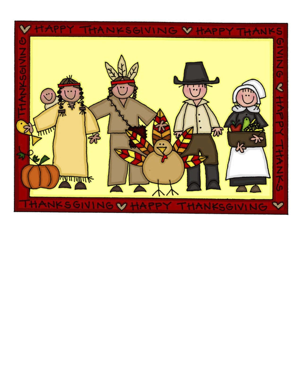 The first thanksgiving feast clipart picture freeuse stock First thanksgiving feast clipart 4 » Clipart Portal picture freeuse stock