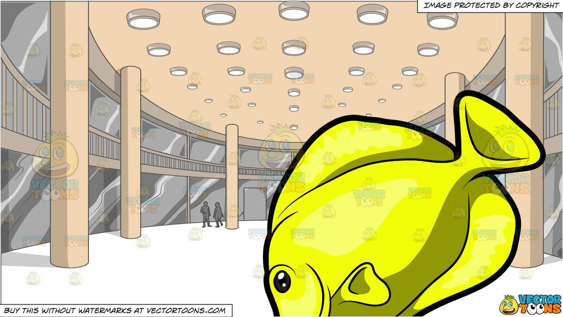The galley fish bone clipart png transparent download A Yellow Tang Fish and A View Of The Activity Center Of A Mall png transparent download