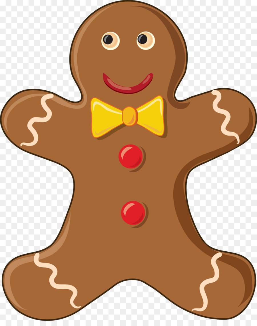 The gingerbread man clipart image free stock Christmas Gingerbread Man clipart - Food, transparent clip art image free stock