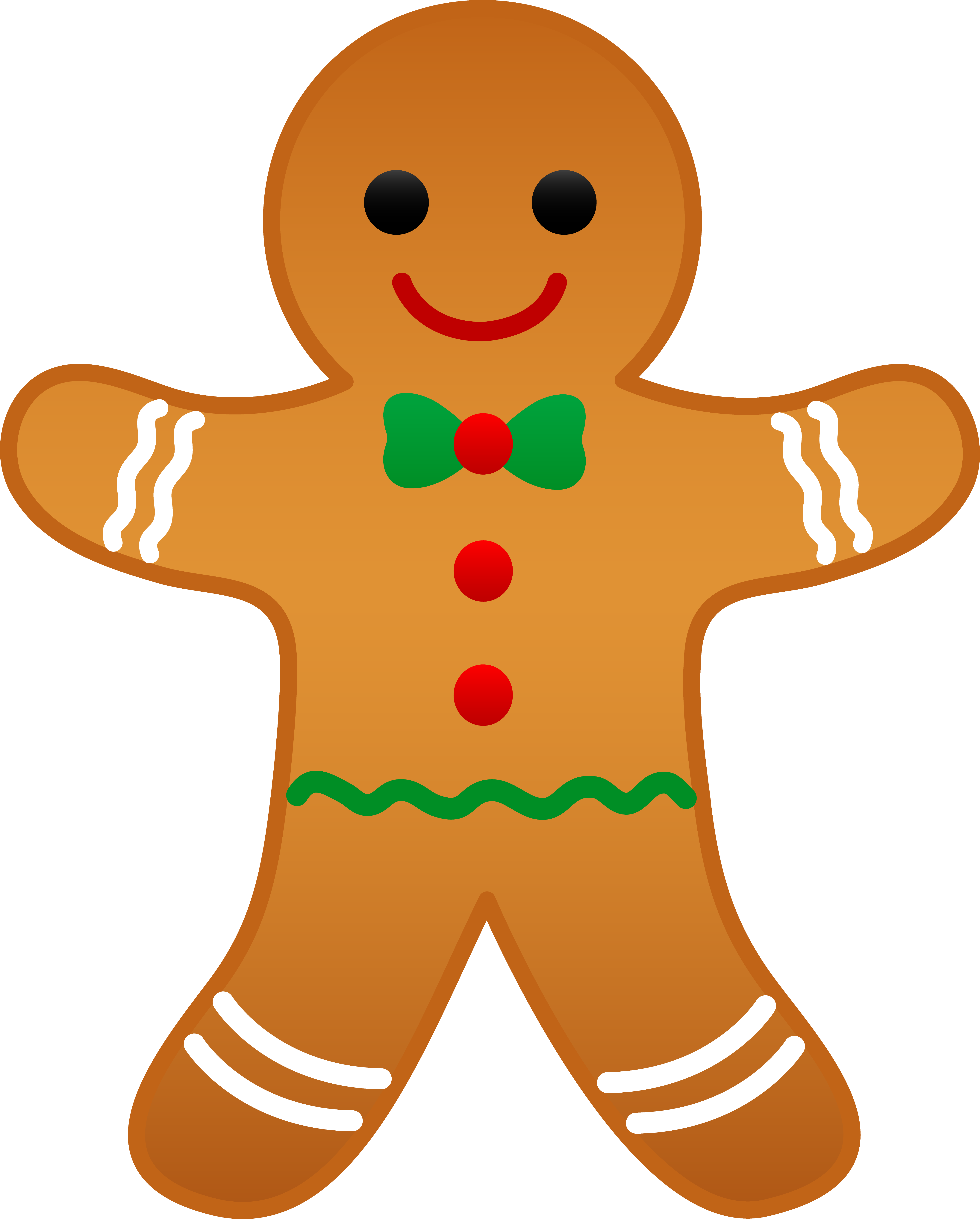 The gingerbread man clipart vector black and white stock Free Images Of Gingerbread Man, Download Free Clip Art, Free ... vector black and white stock