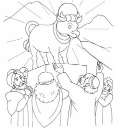 The golden calf clipart black and white vector royalty free download 39 Best golden calf images in 2018 | Exodus 32, Free bible ... vector royalty free download