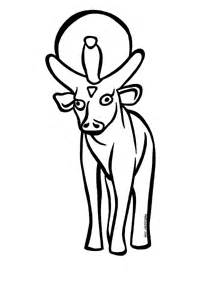 The golden calf clipart black and white vector stock Golden Calf Clipart - Clip Art Library vector stock