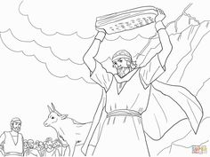 The golden calf clipart black and white graphic black and white download 39 Best golden calf images in 2018 | Exodus 32, Free bible ... graphic black and white download