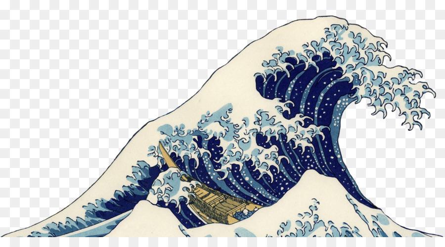 The great wave off kanagawa clipart svg Wave Cartoon png download - 1342*716 - Free Transparent ... svg