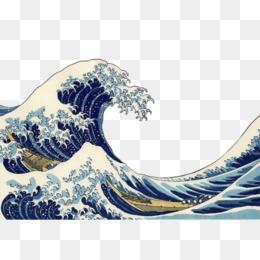 The great wave off kanagawa clipart banner download Great Wave Off Kanagawa PNG and Great Wave Off Kanagawa ... banner download