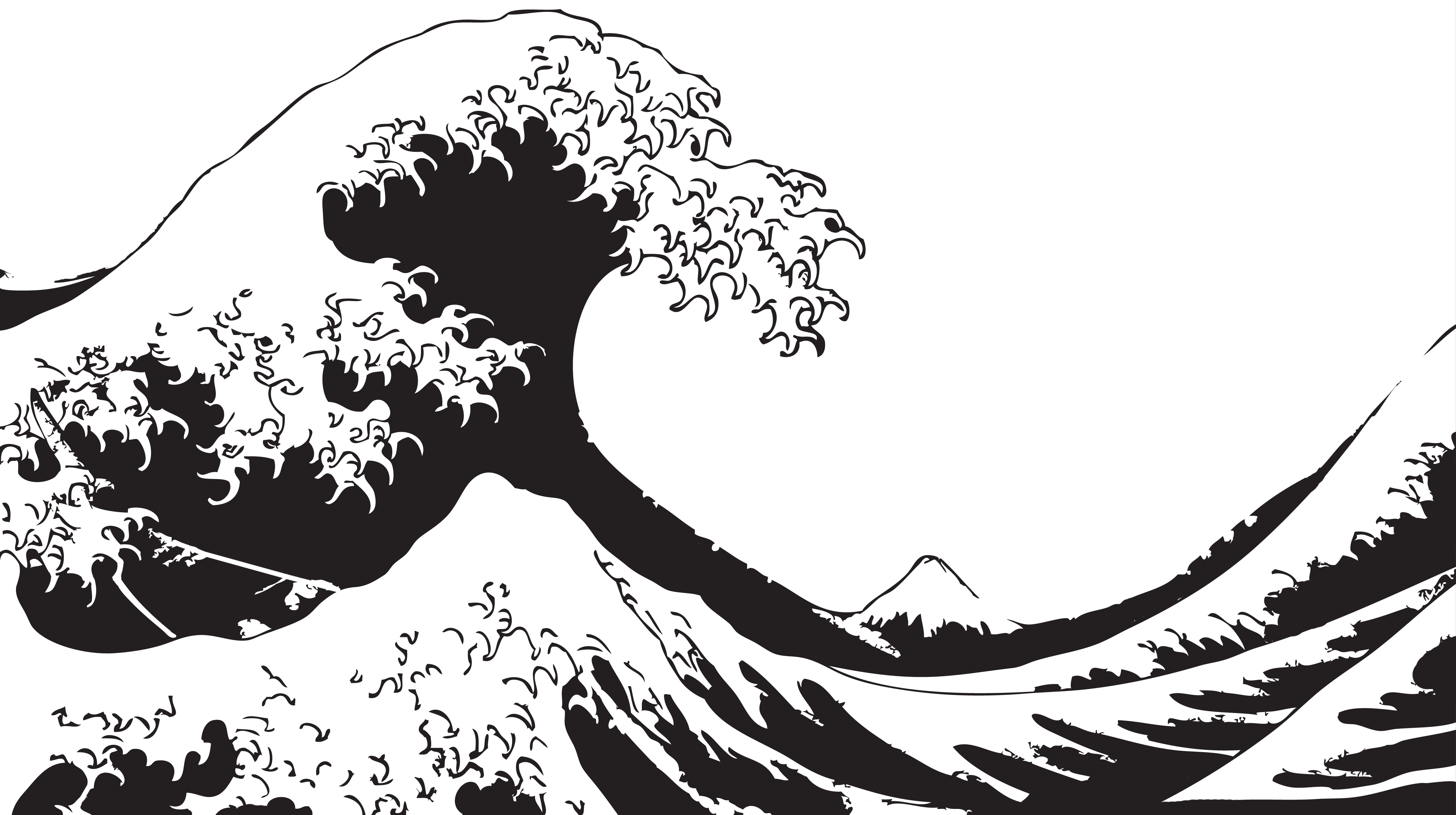 The great wave off kanagawa clipart freeuse stock O][F] \