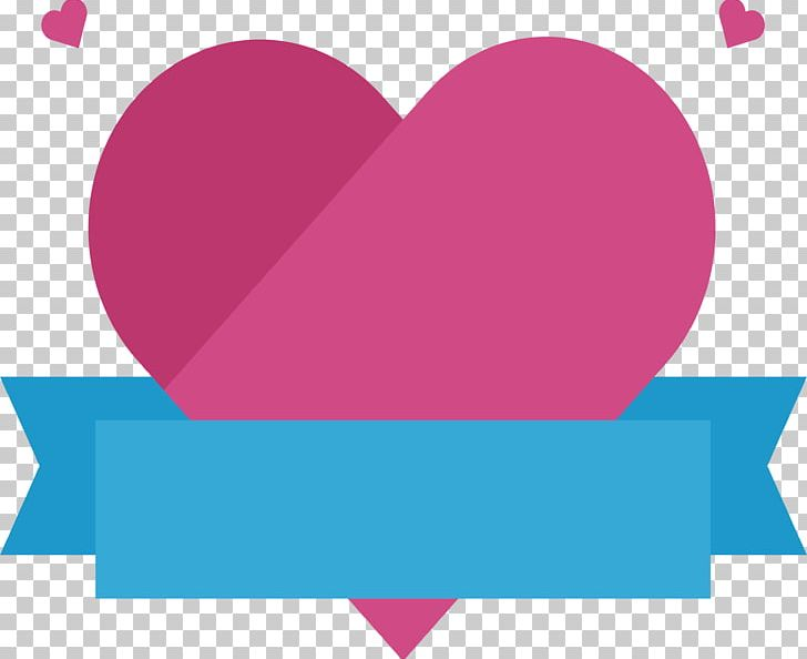 The heart title clipart vector transparent library Pink Love Title Box PNG, Clipart, Blue, Blue Ribbon, Box ... vector transparent library
