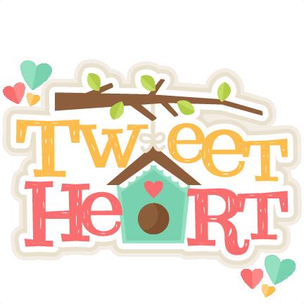 The heart title clipart svg Tweet Heart Title SVG scrapbook cut file cute clipart files ... svg
